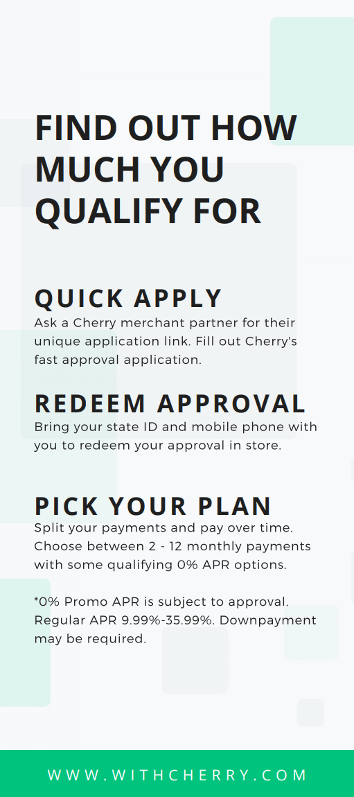 now offering cherry info